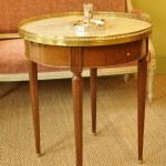 Table de bouillotte style Louis XVI