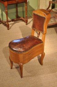 Bidet d'époque Louis XV estampillé