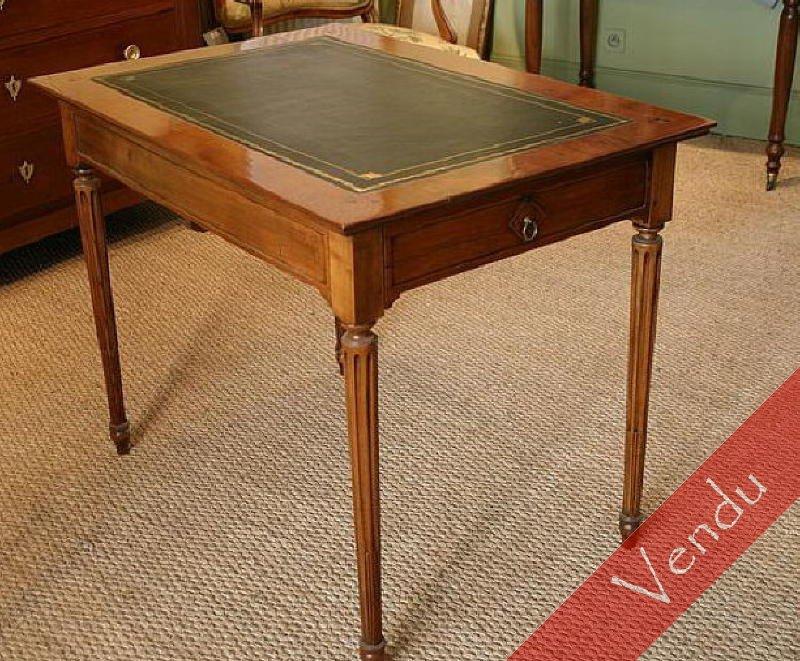 Bureau plat époque Louis XVI