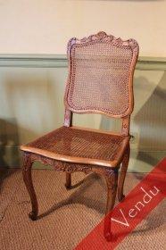 Chaise époque XVIIIe