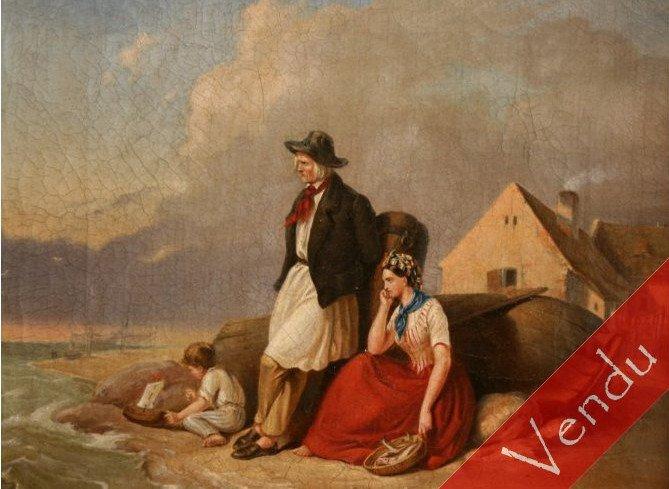 Couple se pêcheur