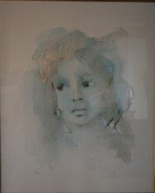 Lithographie Leonor Fini
