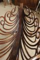 Rare Berceau en bois courbé