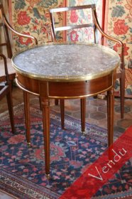 Table bouillotte Louis XVI