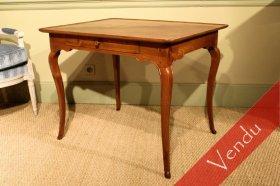 Table cabaret époque Louis XV